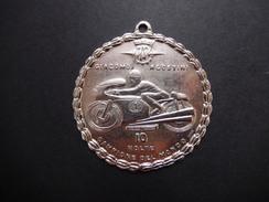 Medaglione Metallo Motociclismo Giacomo Agostini 10 Volte Campione Del Mondo - ME60 - Sport