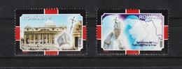 2005 - PAPA IOAN PAUL II  Mi No 5926/5927