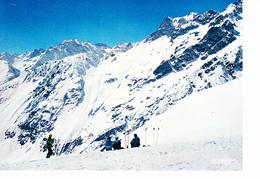 LA SALLE LES ALPES (05), Station De Fréjus, Col De Méa, Massif Du Pelvoux, Skieurs Assis, Ed. La Cigogne 1970 Environ - Serre Chevalier