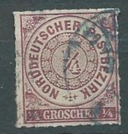 Confederation De L'allemagne Du Nord  -   Yvert N° 1 Oblitéré   - Cw 23030 - North German Conf.