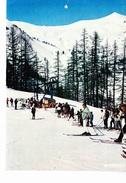 LA SALLE LES ALPES (05), Station De Fréjus, Téleski Des Barres, Skieurs, Le Cucumelle, Ed. La Cigogne 1970 Environ - Serre Chevalier