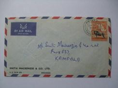 KENYA UGANDA &TANGANYIKA, KUT 1960 COVER MWANZA TO KAMPALA - Kenya, Uganda & Tanganyika