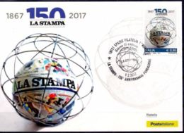 Italy 2017 Printing Press Newspaper Communication Maxicard