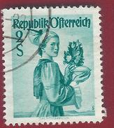 1948 - Upper Austria - Yt:AT 752 - Used