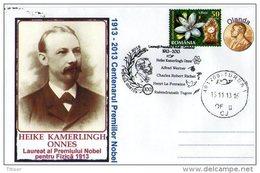 The Nobel Prize In Physics 1913-2013 Centenary. Heike Kamerlingh Onnes.