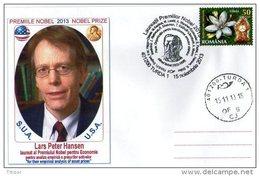 Nobel Prize In Economic Sciences 2013 Lars Peter Hansen.