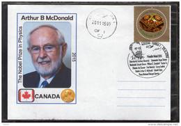 Nobel Prize In Physics 2015 Arthur McDonald - Turda 2015