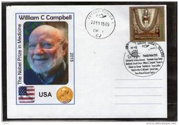 Nobel Prize In Medicine 2015 William Campbell - Turda 2015