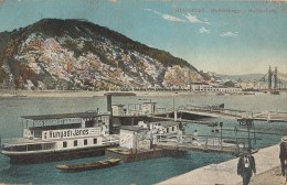 Hongrie - Budapest - Gellerthegy - Gellertberg - Port Bâteau Embarcadère - Postmarked 1912 - Hungary