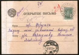 Russia USSR 1939 Postcard Moscow - Frunze, Commission For The Review Of Of Petition For Pardon