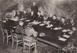 Militaria - Guerre 39-45 - Signature Capitulation Allemande - Guerre 1939-45