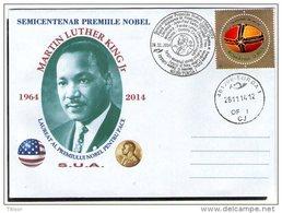 Martin Luther King Jr - Nobel Prize In Peace 1964. Turda 2014.