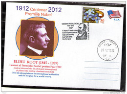 Elihu Root Centenary Nobel Prize In Peace 1912 - Turda 2012