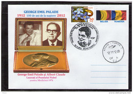 George Emil Palade Albert Claude Nobel Prize In Medicine 1974 - Turda 2012