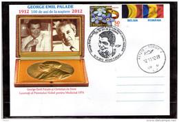 George Emil Palade Christian De Duve Nobel Prize In Medicine 1974 - Turda 2012