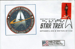ETATS-UNIS: Star Trek: Starfleet Command (computer Game), SPECIAL LETTER From New-York Addressed To Florida