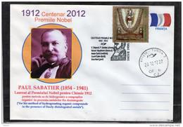 The Nobel Prize In Chemistry 1912-2012 Centenary.  Paul Sabatier.