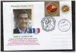 Serge Haroche Nobel Prize Winner In Physics 2012. Turda 2012.