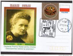 Marie Curie - Nobel Prize In Chemistry1911 . Turda 2011