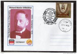 Nobel Prize In Chemistry Centenary Fichard Willstatter - Turda 2015