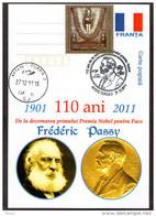 Frederic Passy -  Nobel Prize  In Peace - . Turda 2011