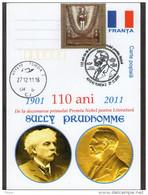 Sully Prudhomme -  Nobel Prize  In Literature - . Turda 2011