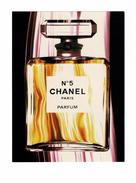 Cartes Parfumées Carte CHANEL N°5   De CHANEL  RECTO VERSO   20.3 CM  X  15.2 CM - Perfume Cards