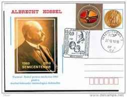 Albrecht Kossel - Nobel Prize In Medicine 1910. Turda 2010.