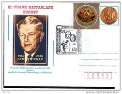 Frank Burnet - Nobel Prize In Medicine 1960. Turda 2010.