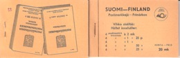 Finland 1936 Lion, Booklet With 4 X 146, 150, 175, 178 And 197 MNH(**)