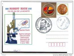 Robert Koch - Nobel Prize In Medicine 1910. Turda 2010.
