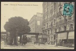 """D 75 - PARIS - Terminus Du Tramway """"Louvre-Cours De Vincennes"""" - France"""