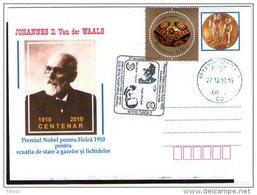 Johannes Waals - Nobel Prize In Phisycs 1910. Turda 2010.