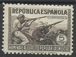 Espagne N° 644 Neuf Avec Charnière De 1938