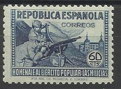 Espagne N° 648 Neuf Avec Charnière De 1938