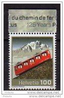 2014 Switzerland -125 Years Pilatus Cogweel Railway - 1 V - Paper - MNH** - Suiza