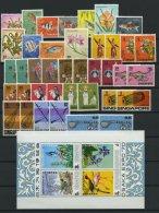 SINGAPUR **, 1962-69, Kleine Postfrische Partie Mit Mittleren Werten, Dabei Bl. 2, Pracht
