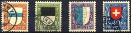 SCHWEIZ BUNDESPOST 175-78 O, 1922, Pro Juventute, Prachtsatz, Mi. 95.-