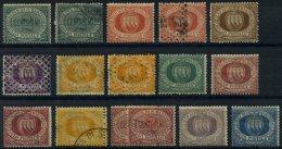 SAN MARINO O,(*), *, 1877-1894, Kleines Lot Von 16 Werten, Etwas Unterschiedlich, Besichtigen!