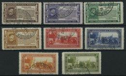 SAN MARINO 184-91 O, 1923, Giuseppe Garibaldi, Prachtsatz, Mi. 350.-