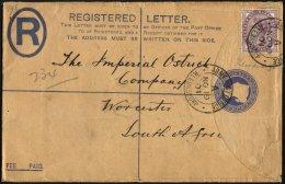 BRITISCHE MILITÄRPOST 65 BRIEF, 1901, 1 P. Königin Victoria Mit K2 ARMY POST OFFICE/A/KIERKSDORF Und Schwachem