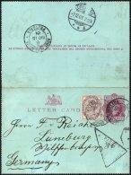 BRITISCHE MILITÄRPOST 65 BRIEF, 1901, 1 P. Königin Victoria Auf Privatbrief Eines Deutschen Siedlers, Bef&ouml