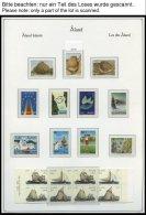 ALANDINSELN **, Komplette Postfrische Sammlung land Inseln Von 1984-2010 Im KA-BE Falzlosalbum Mit Diversen Markenheft
