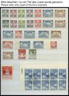 GRÖNLAND - DÄNISCHE POST **,o , Dublettenbuch Grönland Von 1938-82, Prachterhaltung, Mi. über 300.-