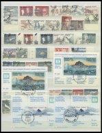 GRÖNLAND - DÄNISCHE POST 140-304 O, 1983-97, Komplette Gestempelte Sammlung Bis Auf Mi.Nr. 195/6, 197/8 Und 20