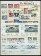 GRÖNLAND - DÄNISCHE POST 140-304 **, 1983-97, Komplette Postfrische Sammlung Bis Auf Mi.Nr. 157/8, 197/8 Und B