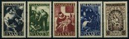 SAARLAND 267-71 **, 1949, Volkshilfe, Prachtsatz, Mi. 110.-