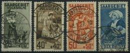 SAARGEBIET 104-07 O, 1926, Volkshilfe, Prachtsatz, Gepr. Geigle, Mi. 130.-