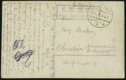 DP TÜRKEI 1918, Feldpoststation HEBRON Auf Feldpost-Ansichtskarte Der 3.Komp.Res.Jäg.Batt 11, Pracht
