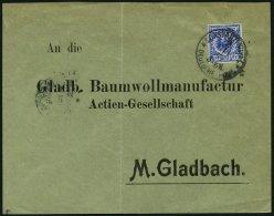 DP TÜRKEI M 48d BRIEF, Mitläufer: 17.1.1899, 20 Pf. Ultramarin, Stempel CONSTANTINOPEL 2 **, Auf Brief Nach M&